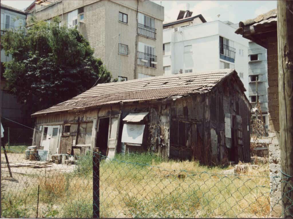 הצריפים האחרונים. דני הופיין - do015099